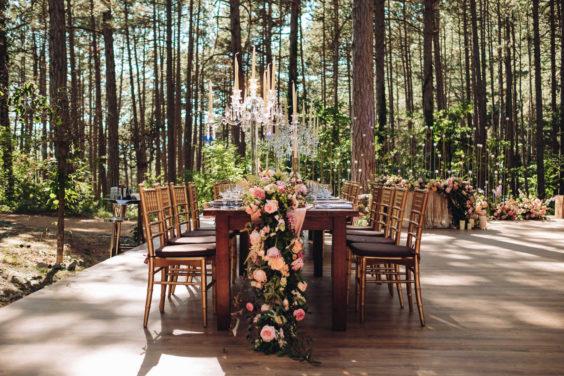 """banketnaya-ploshhadka-6-564x376 Стильная подача самой """"вкусной"""" свадебной зоны: оформляем банкетную площадку., картинка, фотография"""