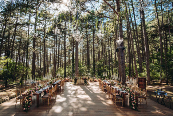 """banketnaya-ploshhadka-7-563x376 Стильная подача самой """"вкусной"""" свадебной зоны: оформляем банкетную площадку., картинка, фотография"""