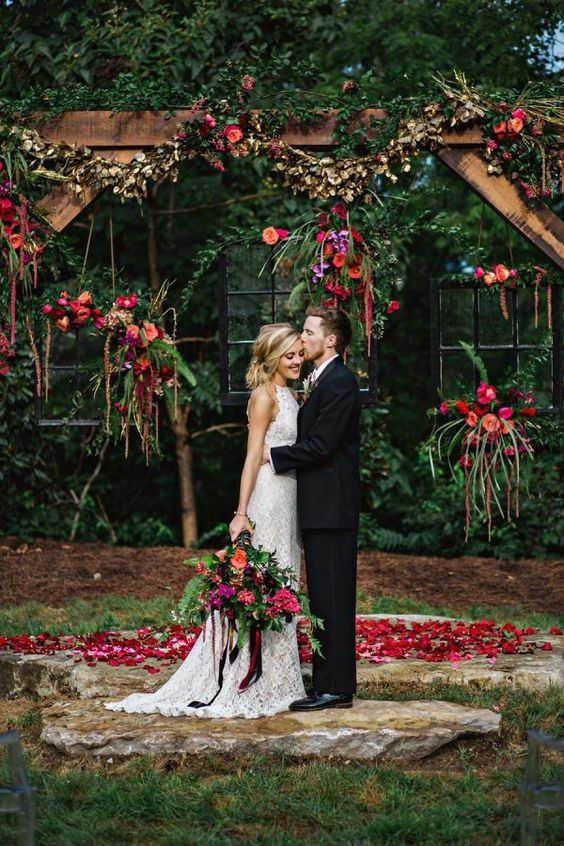 свадьбы осенью в Крыму