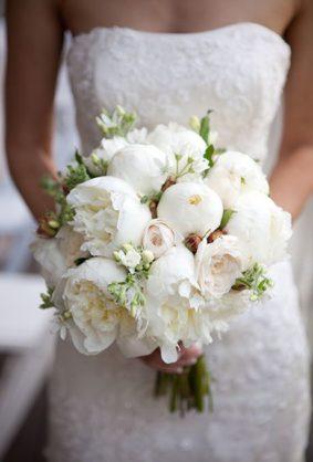 neznyi-buket-nevesty-283x418 Оформление свадьбы цветами, картинка, фотография