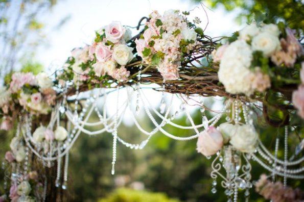 oformlenie-svadby-cvetami-18-595x396 Оформление свадьбы цветами, картинка, фотография