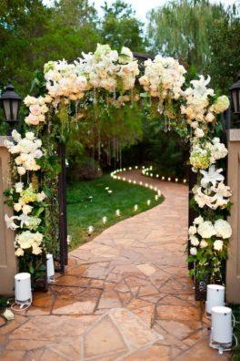 oformlenie-svadby-cvetami-19-264x396 Оформление свадьбы цветами, картинка, фотография