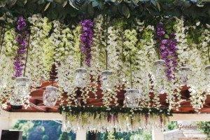 oformlenie-svadby-cvetami-25 Оформление свадьбы цветами, картинка, фотография