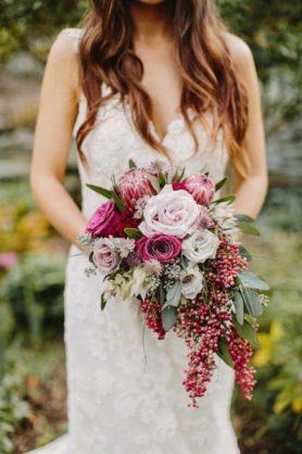 svadebnyi-buket-1-278x418 Оформление свадьбы цветами, картинка, фотография