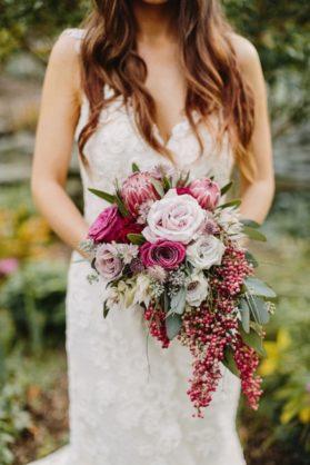 svadebnyi-buket-1-279x418 Оформление свадьбы цветами, картинка, фотография