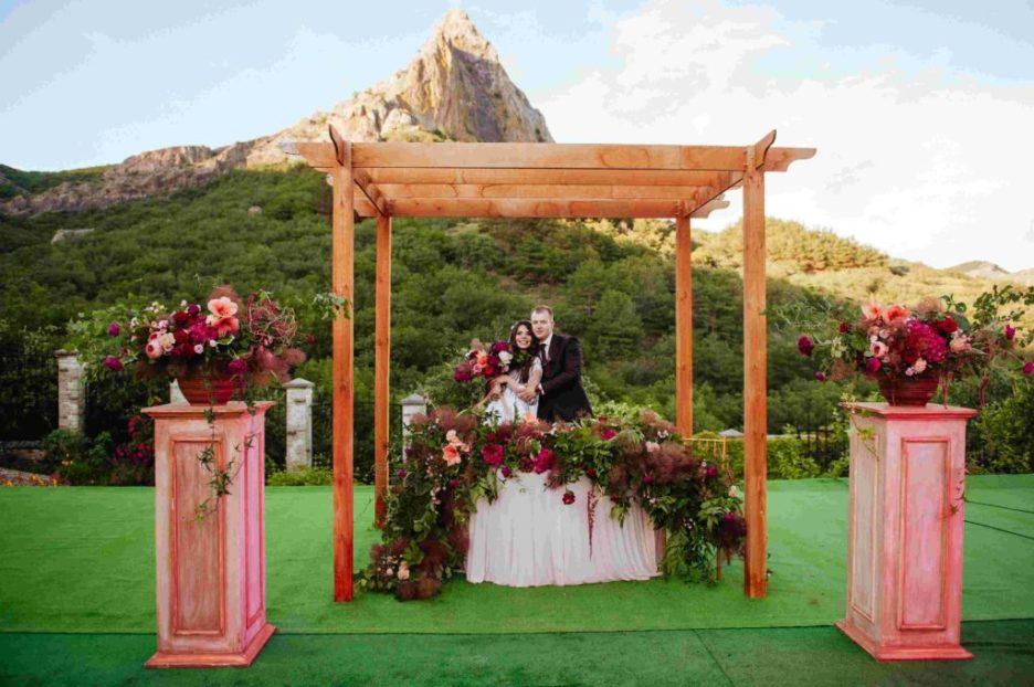 arenda-vyezdnoi-ceremonii-Krym- Аренда декора для свадеб и выездных церемоний в Крыму, картинка, фотография
