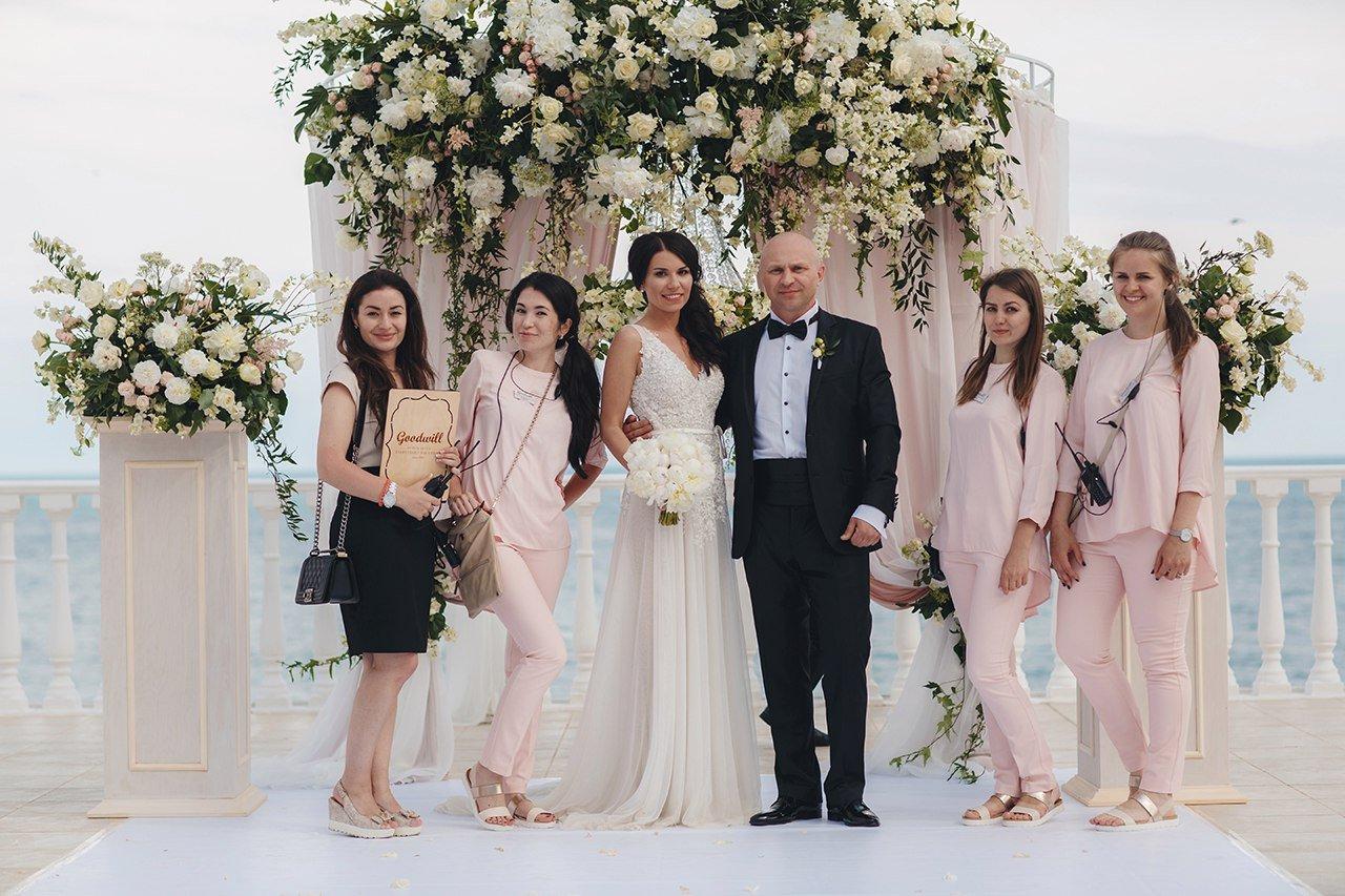 Координация свадьбы в Крыму