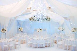 Оформление банкета свадьбы в Крыму