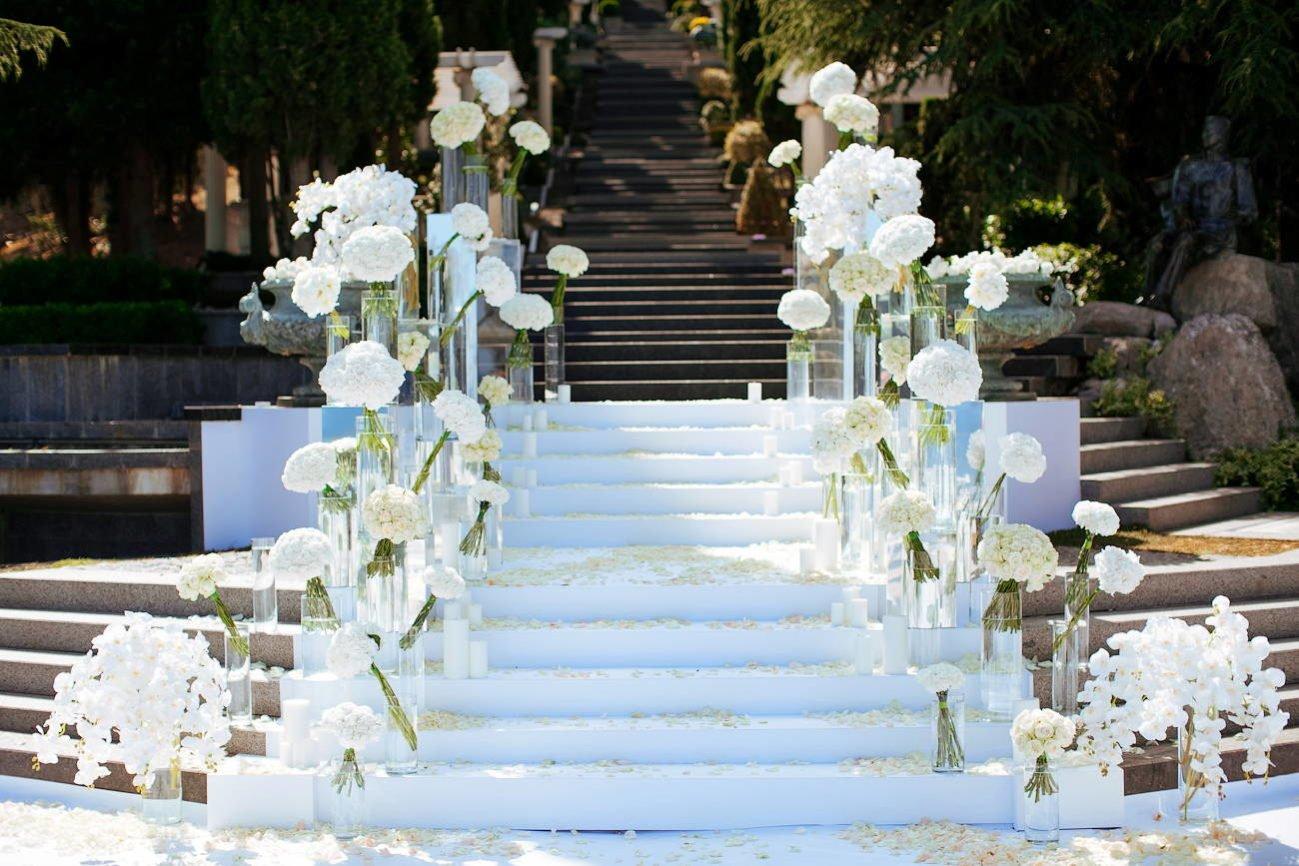 Организация свадьбы в парке Айвазовского