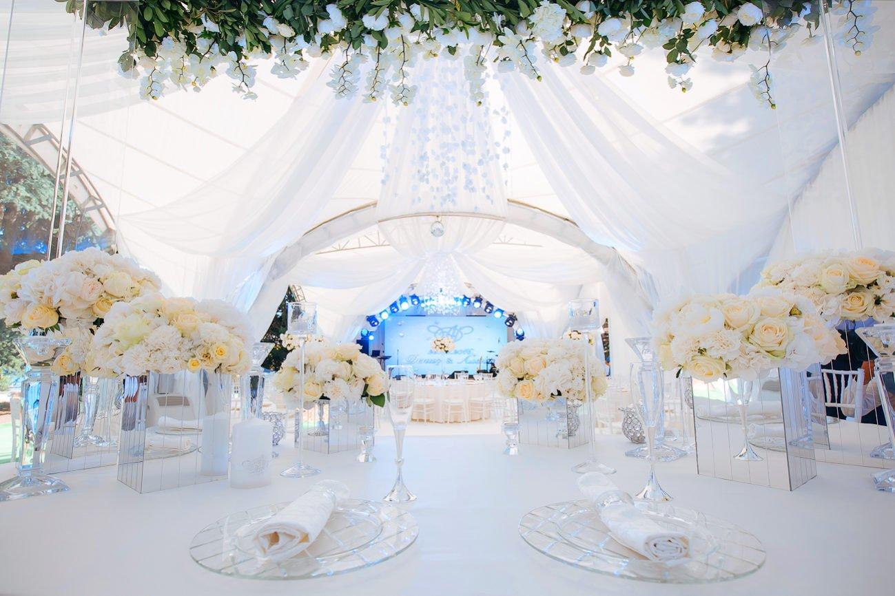 Свадьба в шатре в парке Айвазовского