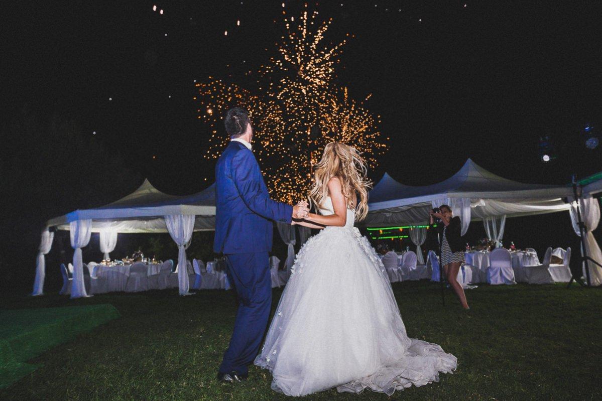 Свадебный салют Крым