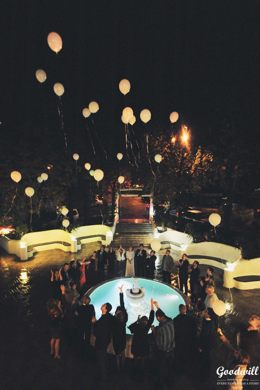 Организация осенней свадьбы в Крыму