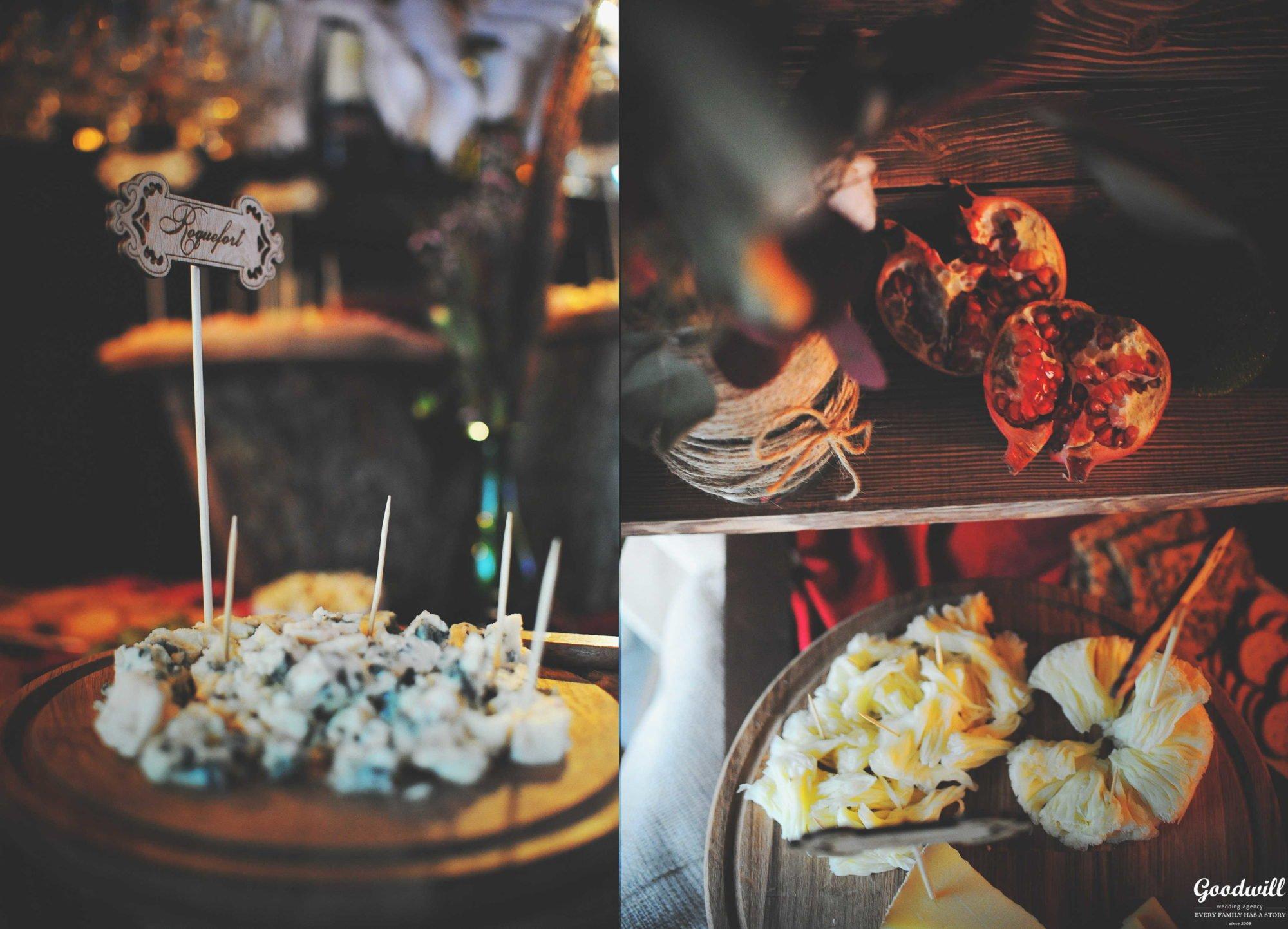 Сырный бар на свадьбу Крым