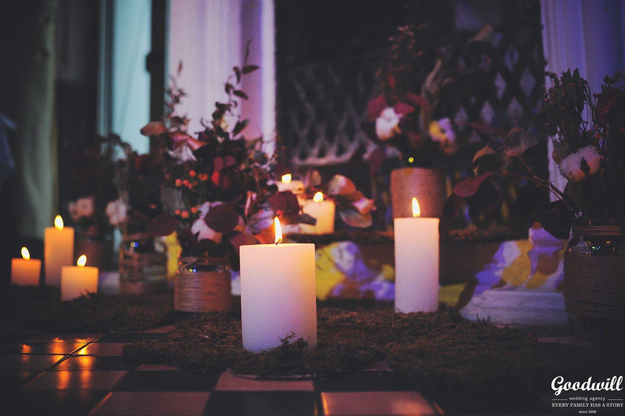 Декор осенней свадьбы Крым