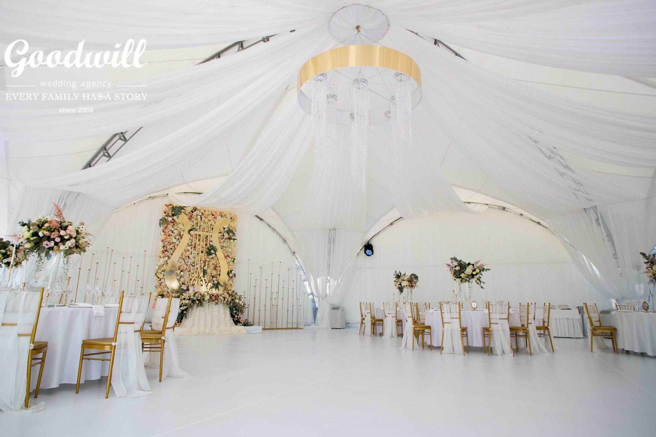 Свадьба в шатре Крым