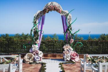 RustamSerafima-257-374x249 Выездная церемония в Крыму, декор, картинка, фотография