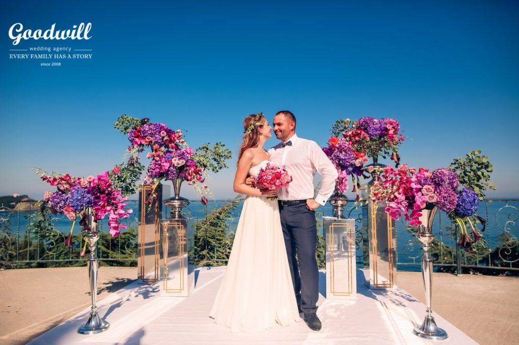 story_111 Свадьба в Крыму на берегу моря, картинка, фотография
