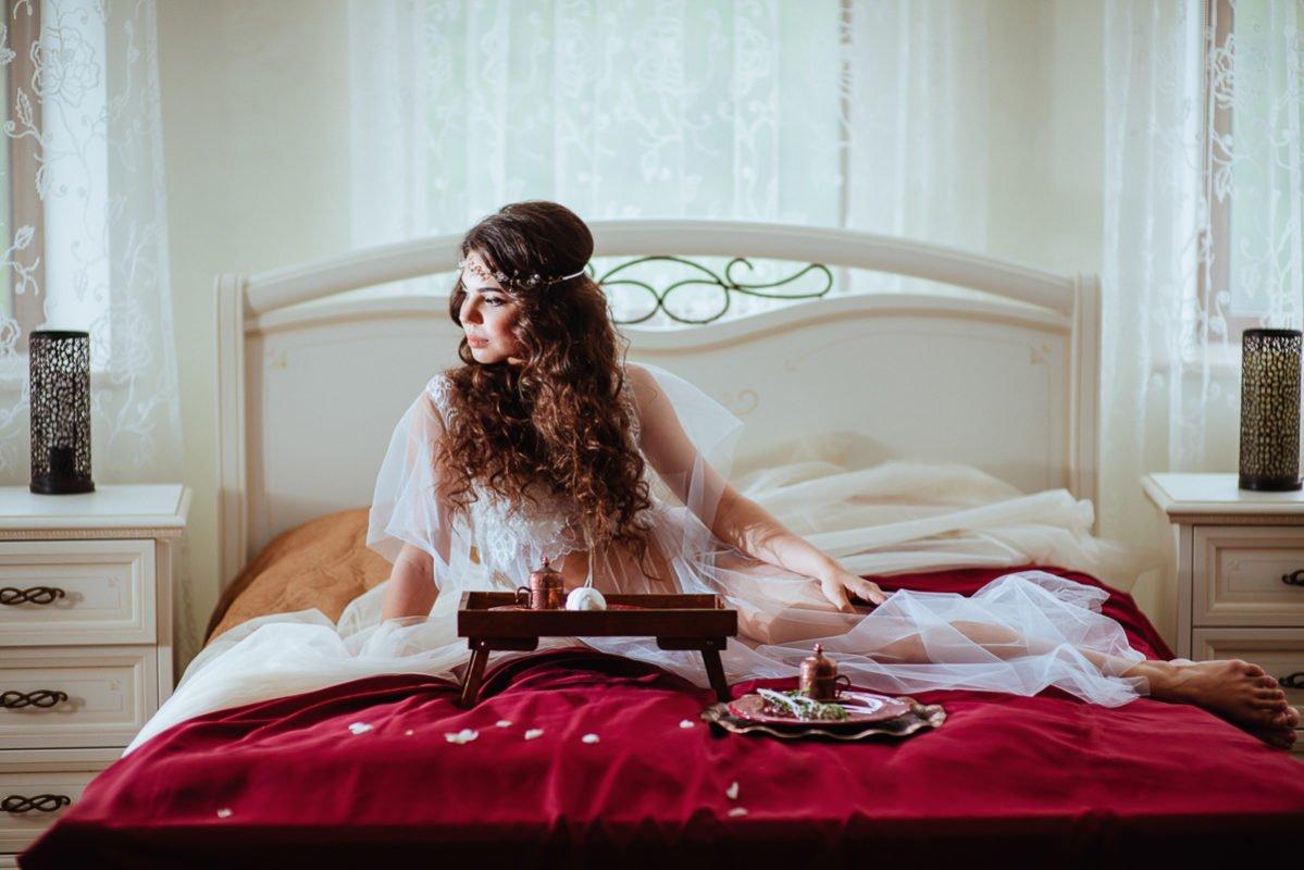 Будуарное утро невесты Крым