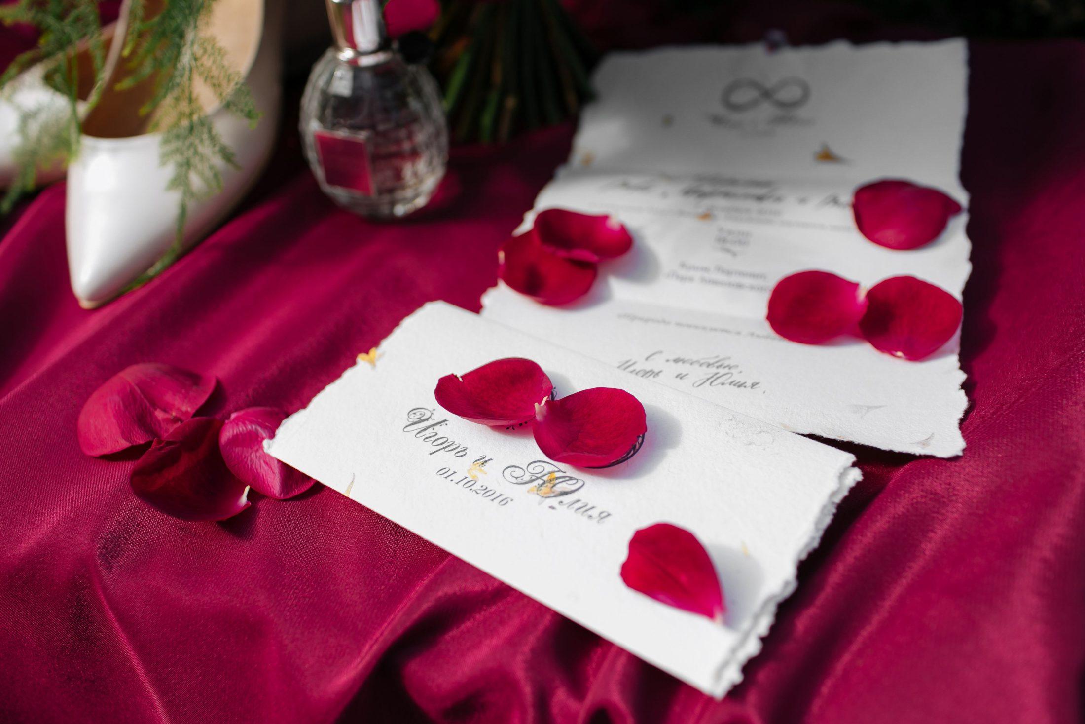 Свадебная полиграфия Крым