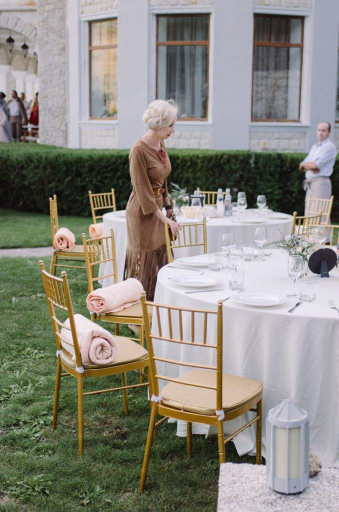 Оформление банкета на свадьбе Крым