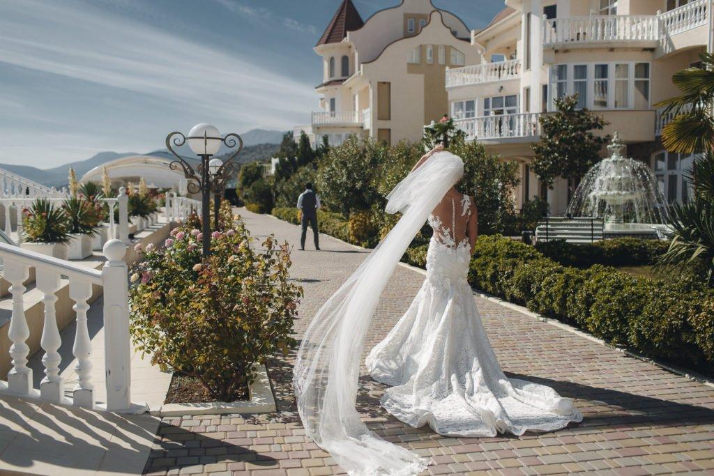 Свадебное платье в Крыму