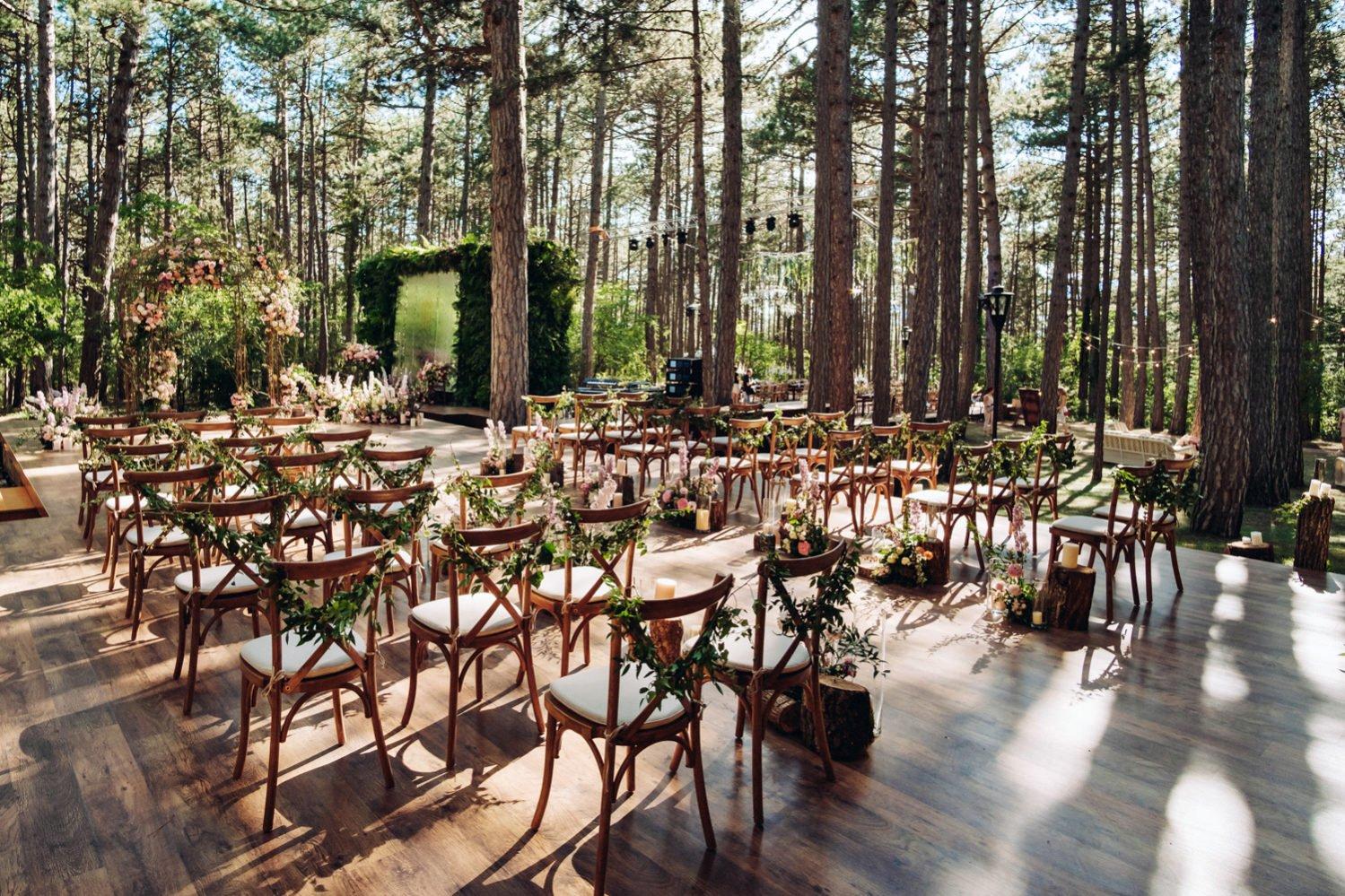 Банкет свадьбы в Крыму