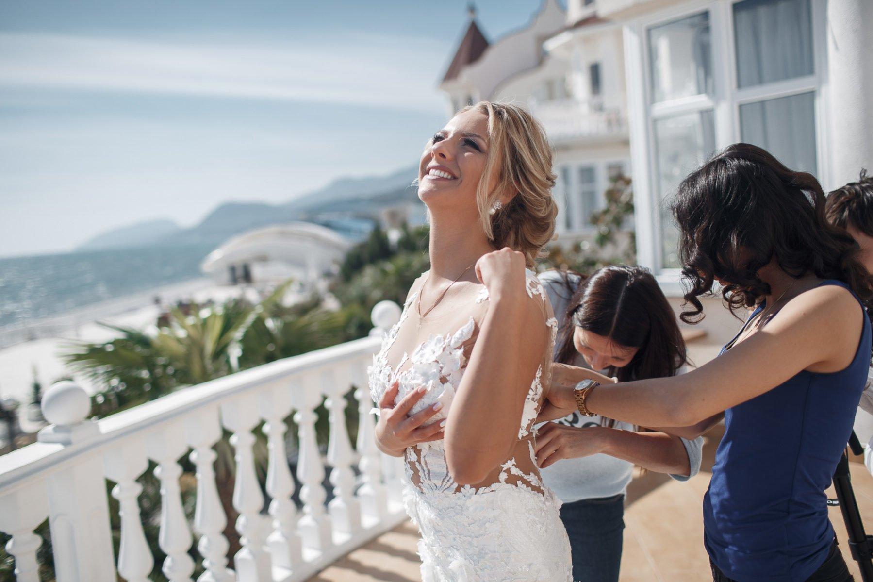 Подружки невесты в Крыму