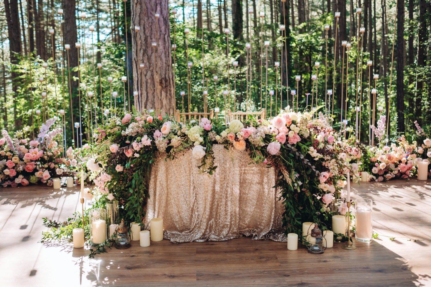 Президиум на свадьбу в Крыму