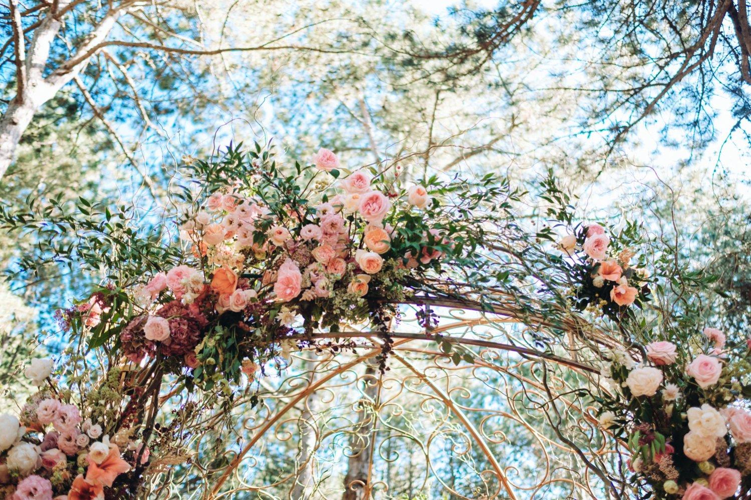 Флористическая арка Крым