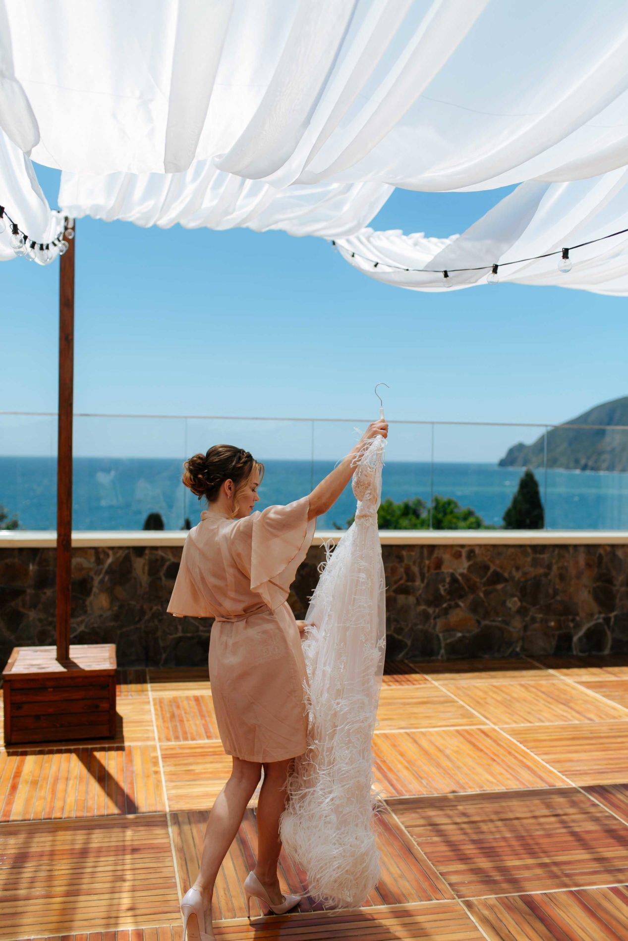Свадьба у моря в Крыму