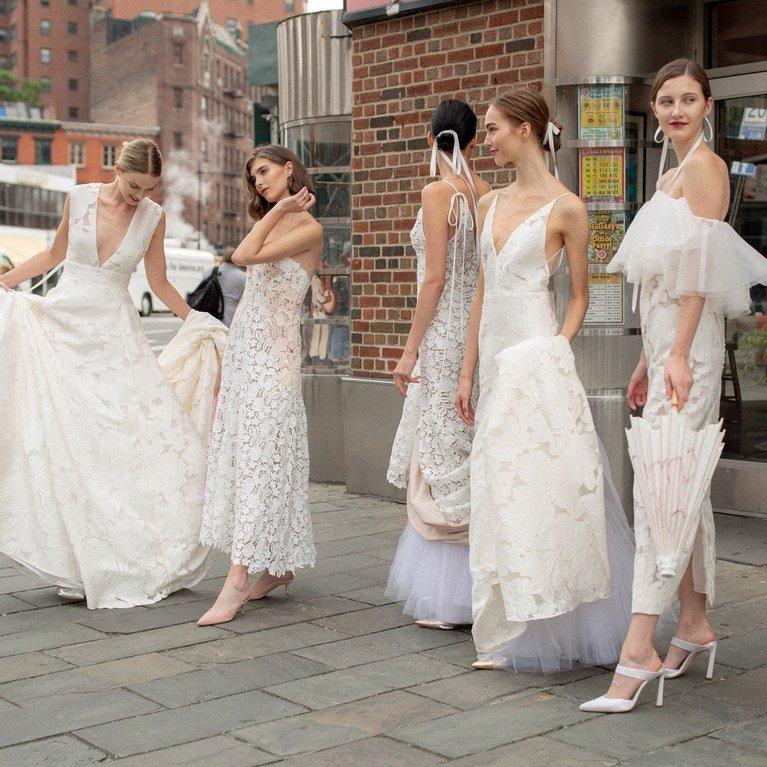 Свадебное платье 2019: тренды