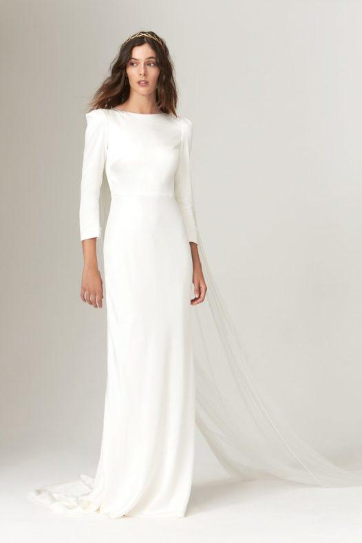 trendy-svadebnykh-platev-2019-11-526x789 Свадебное платье 2019: самые стильные тренды, картинка, фотография