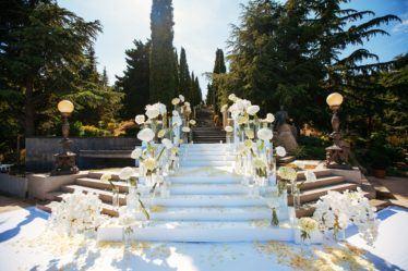 svadba-v-parke-ajvazovskogo-11-374x249 Свадьба в парке Айвазовского. Чем привлекательна эта площадка?, картинка, фотография
