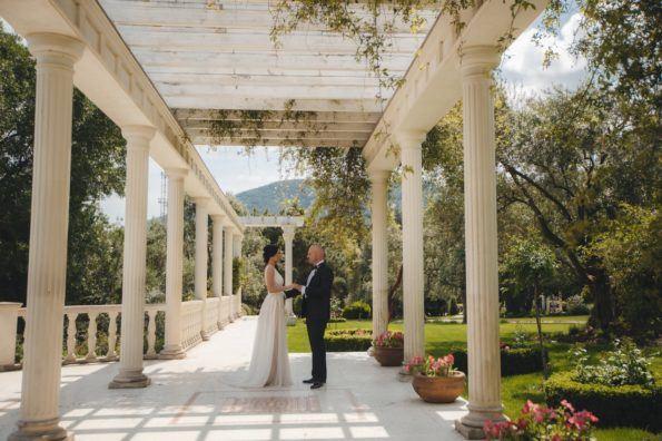 svadba-v-parke-ajvazovskogo-2-595x396 Свадьба в парке Айвазовского. Чем привлекательна эта площадка?, картинка, фотография
