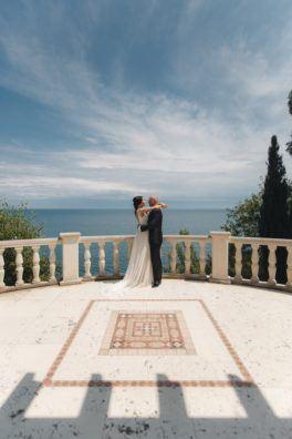 svadba-v-parke-ajvazovskogo-5-264x396 Свадьба в парке Айвазовского. Чем привлекательна эта площадка?, картинка, фотография