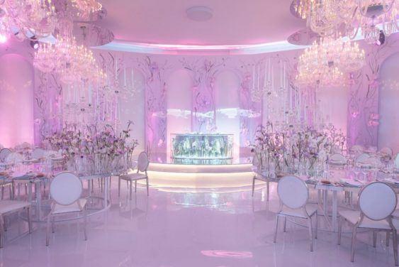 oformlenie-zala-2-1-563x376 Оформление зала для свадьбы. Разбираем по деталям, картинка, фотография
