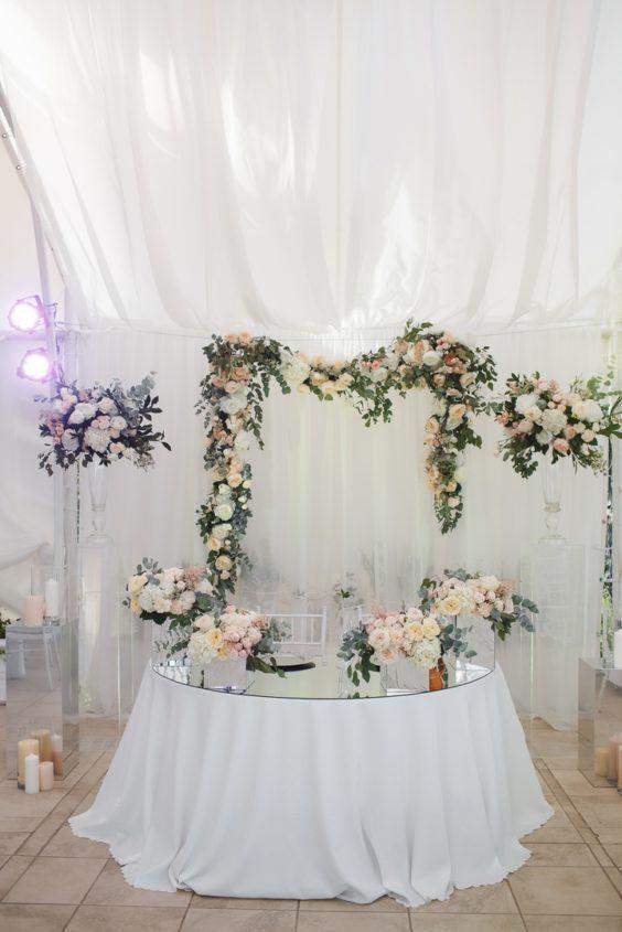 oformlenie-zala-5-564x845 Оформление зала для свадьбы. Разбираем по деталям, картинка, фотография