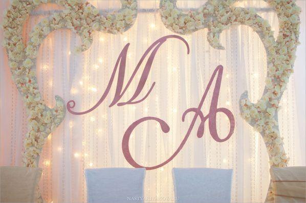 oformlenie-zala-6-598x397 Оформление зала для свадьбы. Разбираем по деталям, картинка, фотография