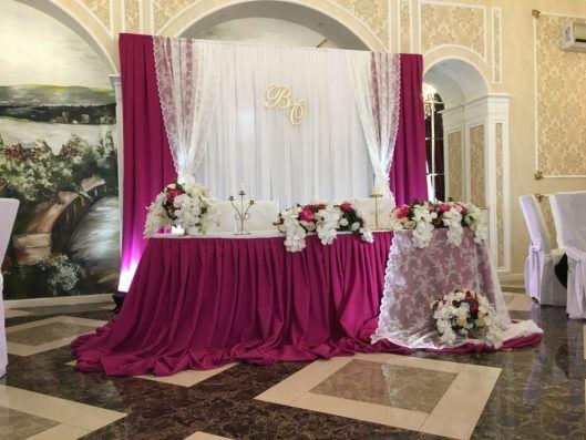 oformlenie-zala-7-529x397 Оформление зала для свадьбы. Разбираем по деталям, картинка, фотография