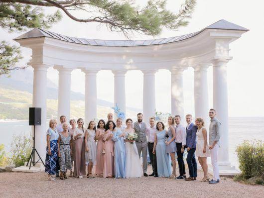 svadba-v-yalte-6-530x398 Свадьба в городе счастья. Организация свадьбы в Ялте, картинка, фотография