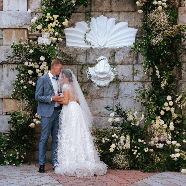 svadba-v-yalte-7-644x644 Свадьба в городе счастья. Организация свадьбы в Ялте, картинка, фотография