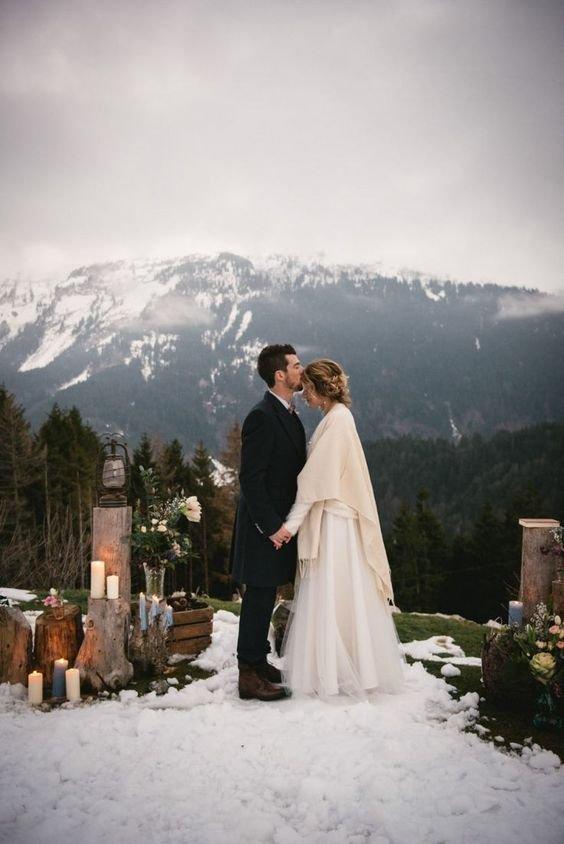 byudzhetnye-svadby-zimoj-16 Бюджетная свадьба зимой, картинка, фотография