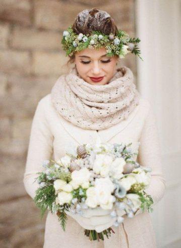 plate-zimoj-2-359x490 Платье невесты зимой: лайфхак «Как сделать свой образ незабываемым», картинка, фотография