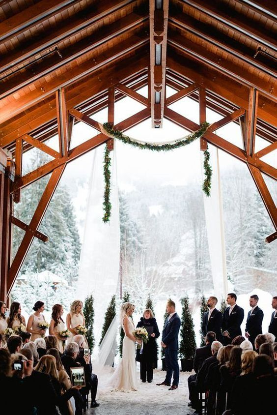 svadba-zimoj-4 Где отметить свадьбу зимой?, картинка, фотография