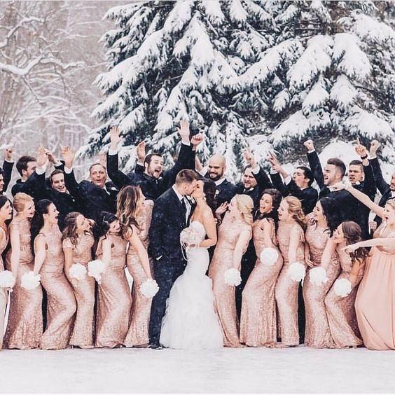 krasivaya-svadba-zimoj-21 Красивая свадьба зимой, картинка, фотография