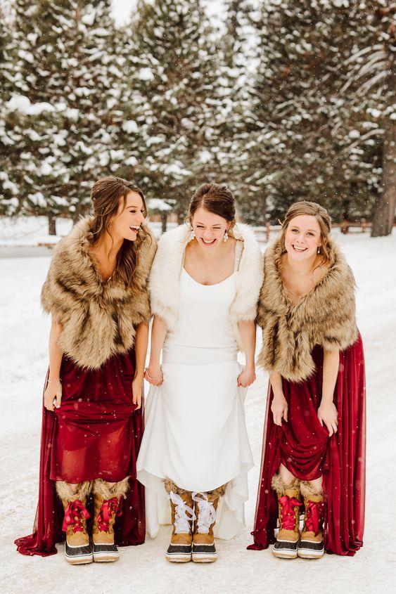 svadba-zimoj-fotosessiya-6 Свадьба зимой фотосессия, картинка, фотография