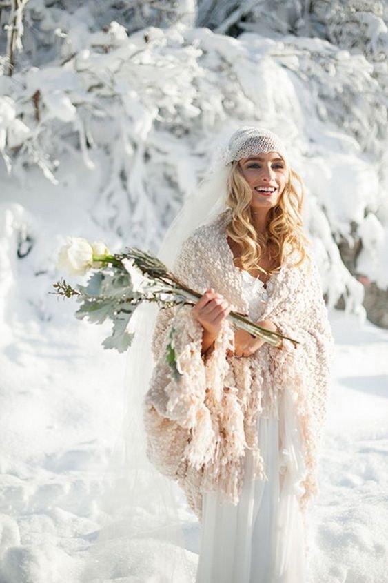 свадьба зимой плюсы