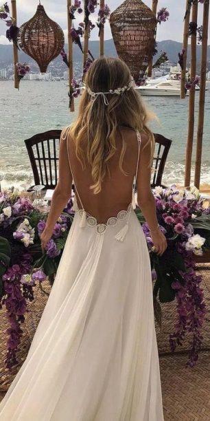 plate-dlya-svadby-na-more-14-306x612 Платье для свадьбы на море, картинка, фотография