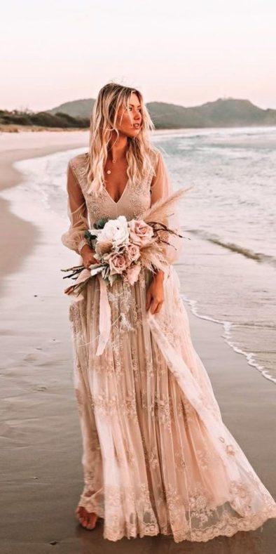 plate-dlya-svadby-na-more-3-394x789 Платье для свадьбы на море, картинка, фотография
