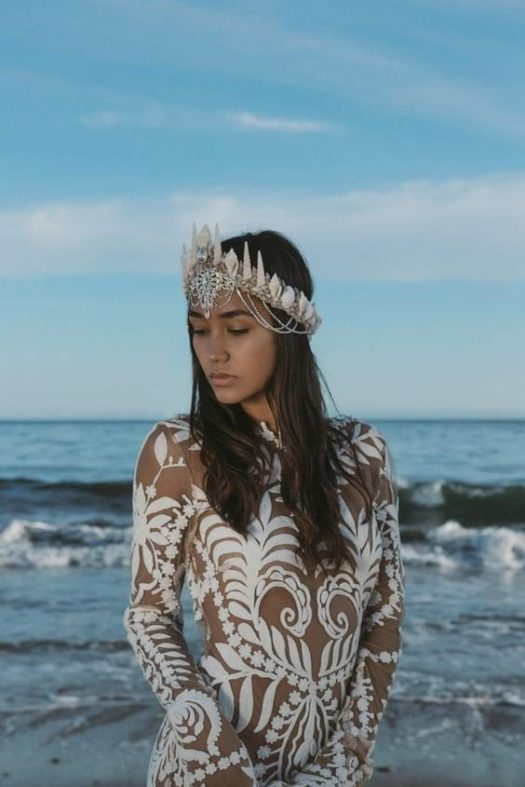 plate-dlya-svadby-na-more-5-525x787 Платье для свадьбы на море, картинка, фотография